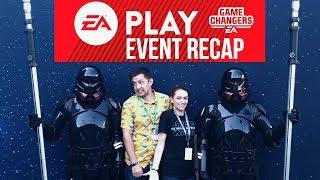 Star Wars Explained EA Play 2019 Vlog