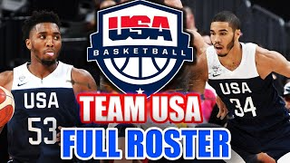 Team USA Final 12 Selected! 2019 FIBA World Cup Roster Predictions