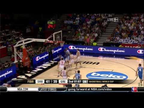 watch FIBA 2014 World Cup Serbia-Greece HD