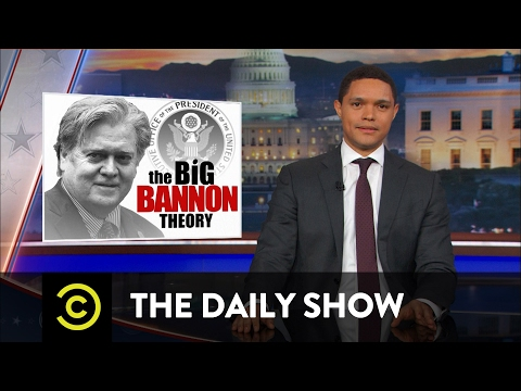 Is Steve Bannon the Real President The Daily Show