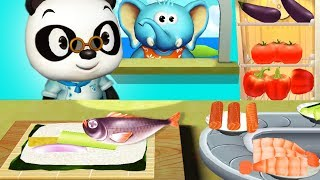 Fun Kitchen Kids Game - Learn How To Cook With Panda Restaurant - Gameplay Android Video