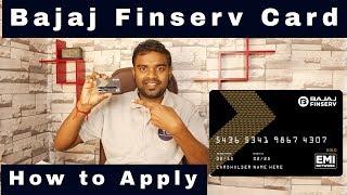 How to Apply Bajaj Finserv EMI Card - No Cost EMI - FAQ