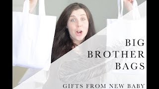 Big Brother Kit Bags - Gift From New Baby