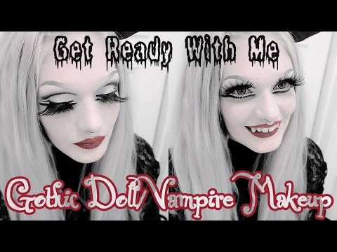 † Get Ready With Me: Gothic Doll/Vampire Makeup - Victoria Lovelace †