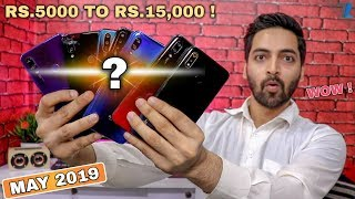 Best Smartphones To Buy Between Rs.5000 To Rs.15,000 [May 2019]