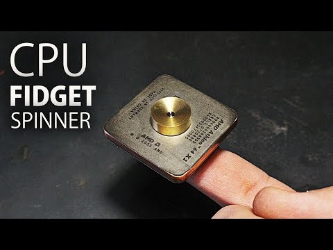 CPU Fidget Spinner!