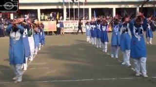 আদর্শ  বিদ্যানিকেতন এর  বার্ষিক ক্রীড়া প্রতিযোগিতা -২০১৫ এর প্যারেড এবং পিটি