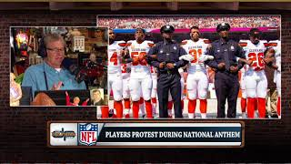 Dan Patrick on Donald Trump's Comments & This Weekend's NFL Anthem Demonstrations | 9/25/17