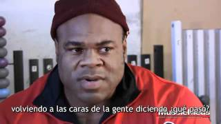 Kai Greene talks about the Olympia - Subtítulos español