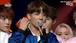 BTS (방탄소년단) DNA Win NO.1 (3rd Win) + ENCORE STAGE   M COUNTDOWN 170928