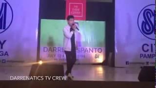 SEE YOU AGAIN Darren Espanto Live @ SM PAMPANGA (July 12,2015)