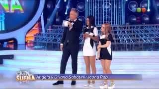 Oriana Sabatini y Ángela Torres son Icona Pop en TCMS COMPLETO HD