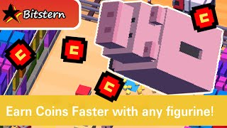 DISNEY CROSSY ROAD Legendary Characters : Hamm Unlock (Toy Story)  | iOS Features & Gameplay