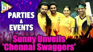 Sunny Leone Unveils BCL Season 2 - Chennai Swaggers Team