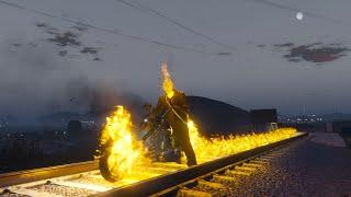 GTA 5 Ghost Rider Mod