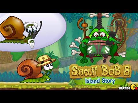 Snail Bob 8 Island Story All Level 1 30 Walkthrough