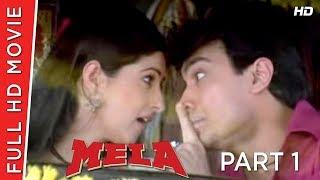 Mela Part 01 | Aamir Khan | Twinkle Khanna | B4U HD Movies