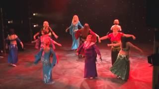 Melissa Radway Raqs Sharqi Dancers at the Theatre Royal and Opera House, Wakefield