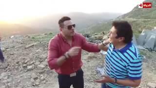 """محمد نور بعد مقلب هاني رمزي """" أول مرة يتعمل فيا كده """" ... هاني هز الجبل"""