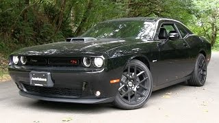 2015 Dodge Challenger RT Shaker Start Up, Test Drive, and In Depth Review