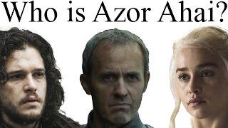 """قيم اوف ثرونز // من هو ازور اهاي """"Azor Ahai"""""""