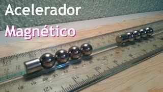 Acelerador Magnético o Rifle de Gauss