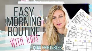 Kids Morning Routine For A Stress Free Morning