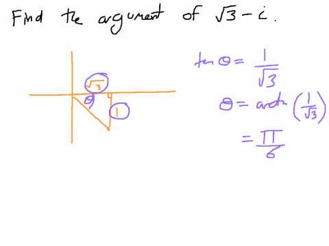 How to Find the Argument of Complex Numbers