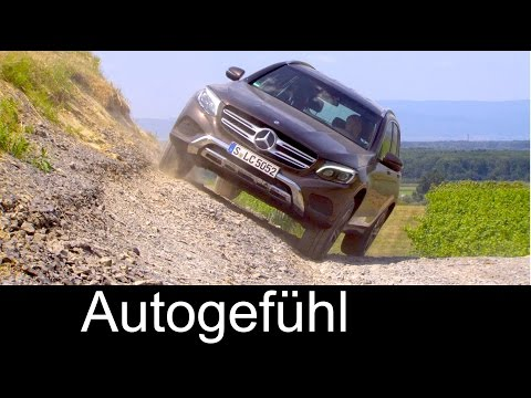 All new Mercedes GLC offroad onroad exterior interior preview