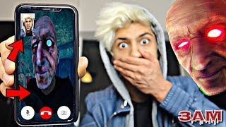 DO NOT FACETIME GRANDPA AT 3AM!! *OMG HE CAME TO MY HOUSE*