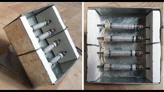 How to Make Mini Electric HEATER // 160Watts