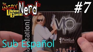 V.I.P. with Pam Anderson (PS1) - Angry Video Game Nerd - Episode 128 [Sub Español]