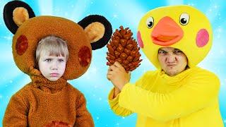 Мишка Косолапый по Лесу Идет | Песни для Детей и Малышей | Сборник Песенок 10 | Чух Чух ТВ