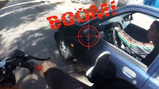 Stupid, Crazy & Angry People Vs Bikers | ROAD RAGE | Bad Drivers Caught On Go Pro [Ep.#113]