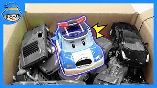 Robocar Poli Toys Episode. Car toys repair videos for Kids. Toy tool set play