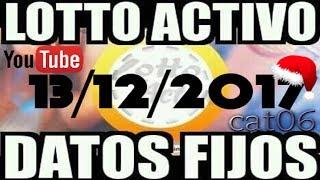 LOTTO ACTIVO DATOS FIJOS PARA GANAR 13/12/2017 cat06