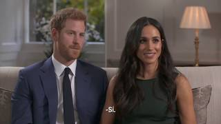 Primera entrevista del príncipe Harry y Meghan Markle tras su anuncio de compromiso (subtitulada)