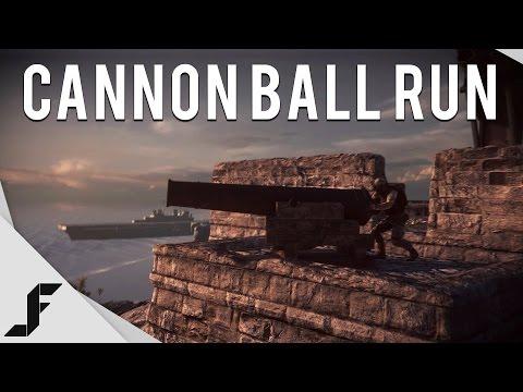 Cannon Ball Run - Battlefield 4