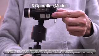 YI Handheld Gimbal Instructions Tutorials [Official Guide]