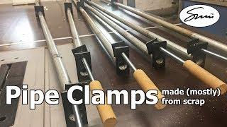 DIY toolmaking: pipe clamps from scrap material