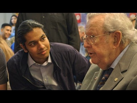 18-Year-Old Surprises WWII Veterans Who Have Changed His Life