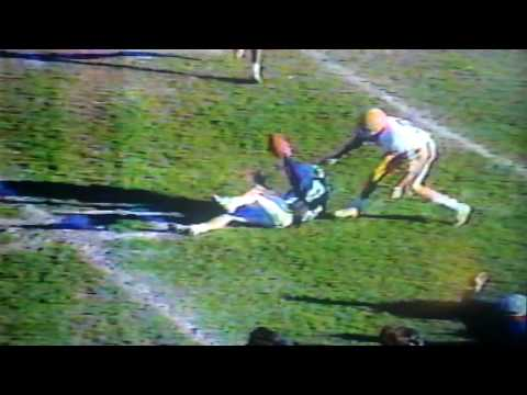 Berwick Bulldogs VS. Middletown Blue Raiders 1988 PA State Playoff Football Game AWESOME CATCH