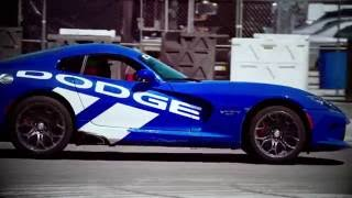 Dodge Viper and Hellcat Thrill Rides at Mecum Indy 2016