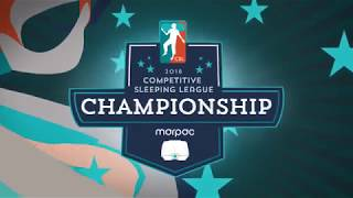 Competitive Sleeping Championship Recap - by Marpac #sleeplikeachamp
