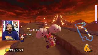 Mario Kart Best Moments | No. 10 | LIRIK, Giantwaffle, Terroriser, Ms_Vixen, uzumakikhan786