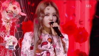 LEE HI (이하이) - ROSE @SBS Inkigayo 인기가요 2013.04.07