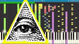 IMPOSSIBLE REMIX The Illuminati Song Piano Cover
