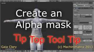 Creating Alpha Masks for the Second Life Avatar