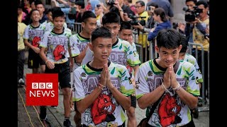 Full News Conference: Thai cave rescue boys relive