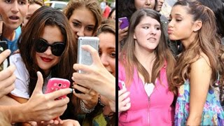 Ariana Grande, Selena, Taylor Swift, Katy Perry & More – Who Treat Fans The Best